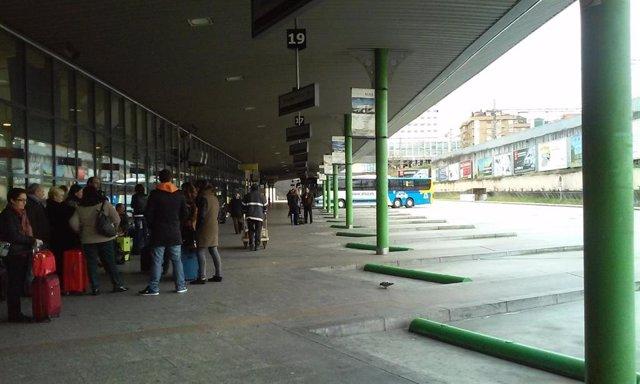 Estación de autobuses de Oviedo.