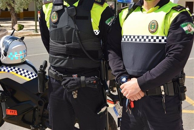 Agentes de la Policía Local de El Viso
