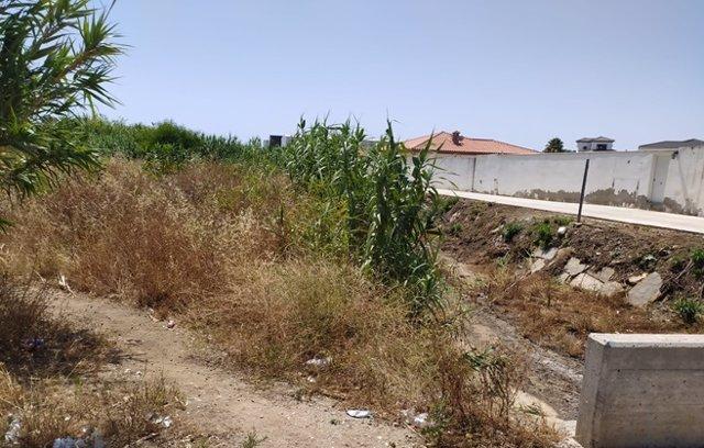 Cádiz.- La Junta limpiará este martes el cauce del arroyo Cañada Honda de La Lín