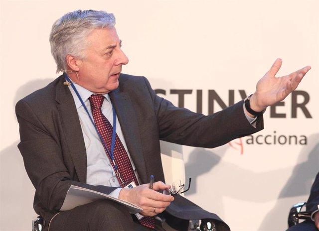 El director ejecutivo de Acento Asuntos Públicos y ex ministro de Fomento, José Blanco,, a 13 de febrero de 2020.
