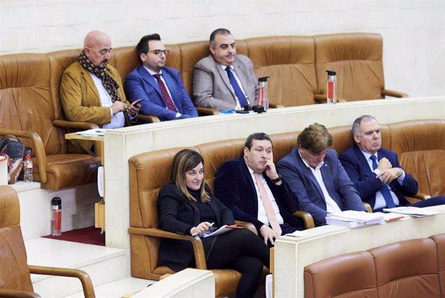 Grupo popular en el Parlamento de Cantabria