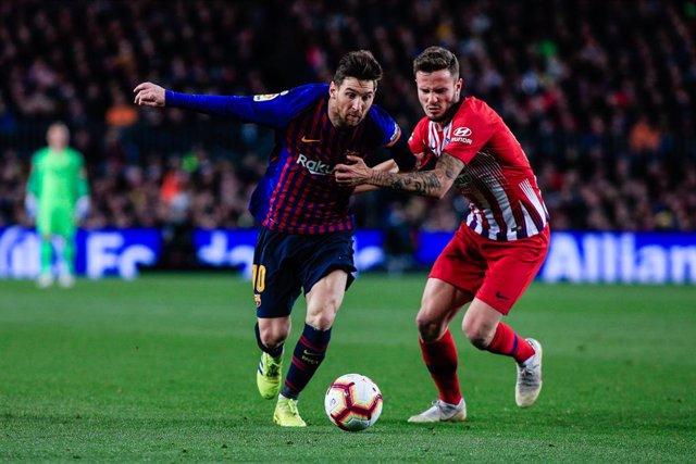 Fútbol/Primera.- Previa del FC Barcelona - Atlético de Madrid