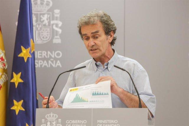 El director del Centro de Coordinación de Alertas y Emergencias Sanitarias (CCAES), Fernando Simón,  en Madrid (España), a 29 de junio de 2020.