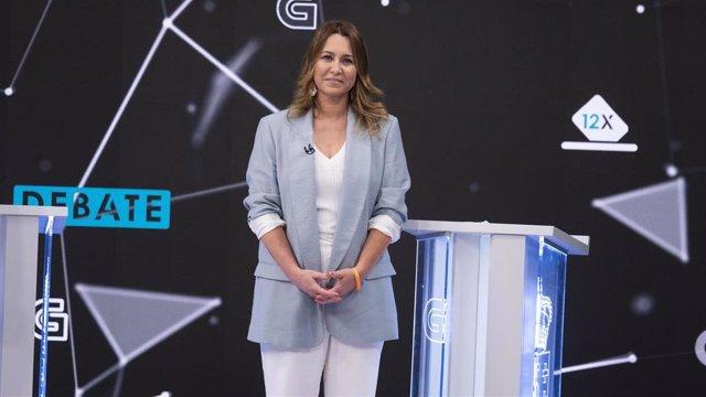 La candidata a la Presidencia de la Xunta de Ciudadanos, Beatriz Pino
