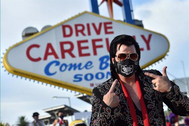 Coronavirus en Las Vegas, Nevada.