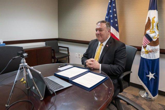 El secretario de Estado de Estados Unidos, Mike Pompeo.