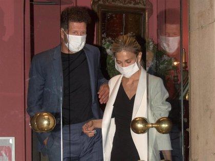 Carla Pereyra y Diego Simeone disfrutan de su cena más romántica