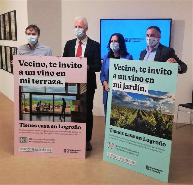 'Tienes Casa En Logroño', Campaña Municipal Para Promocionar El Turismo De Nacional De Proximidad A La Capital Riojana