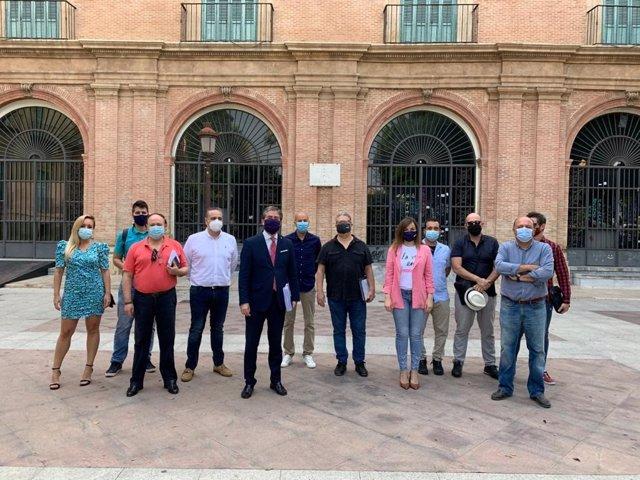 Imagen de la presentación de la programación de actividades para el periodo estival en Murcia
