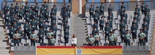 Huelva.- La Guardia Civil incorpora 73 nuevos agentes en formación que reforzará