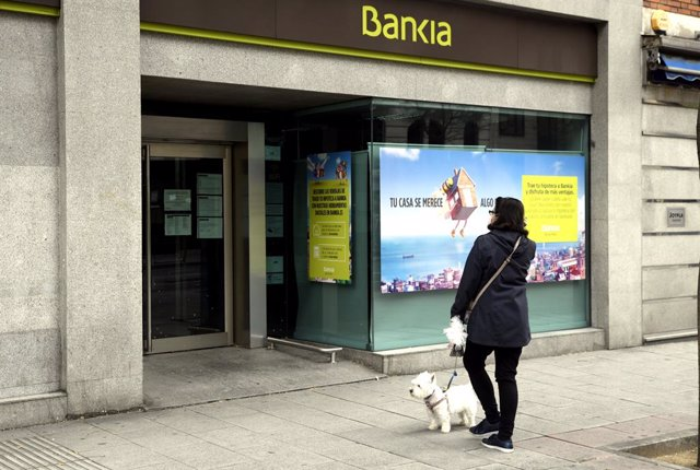 Oficina de Bankia.