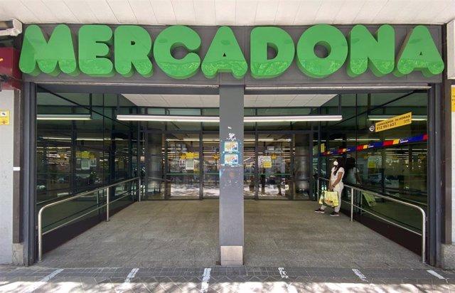 Una tienda de Mercadona en Madrid.