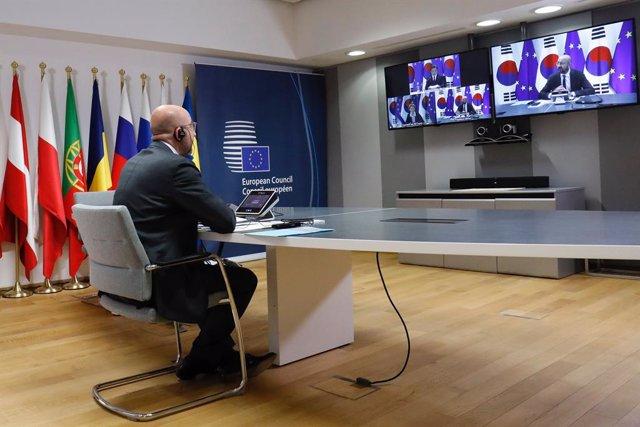 Corea.- La UE pide a EEUU retomar el proceso de paz en Corea ante el incremento