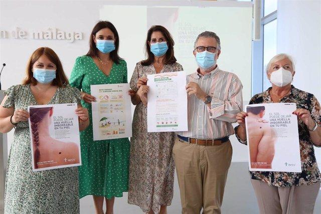 La Diputación de Málaga y la AECC presentan una campaña de prevención solar y buenos hábitos a los 103 municipios