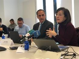 Luis Vadillo y Elisa Chuliá en una imagen de archivo