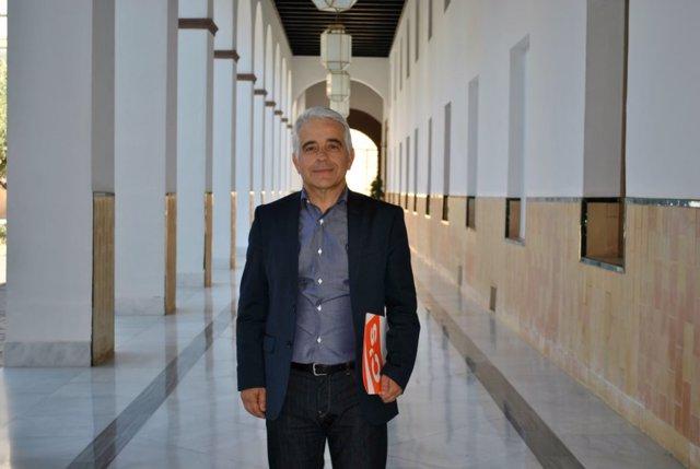 El presidente del Consejo Escolar de Andalucía, José Antonio Funes, en su etapa como diputado de Ciudadanos en el Parlamento de Andalucía