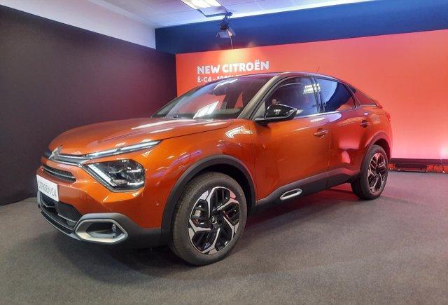 El nuevo C4 de Citroën, que se producirá en Madrid.