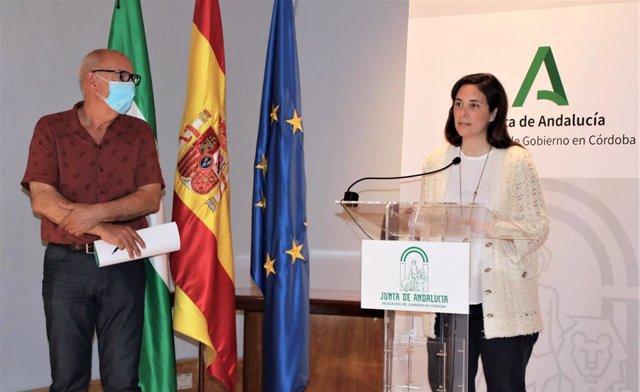 La delegada de Cultura y Patrimonio Histórico de la Junta de Andalucía en Córdoba, Cristina Casanueva