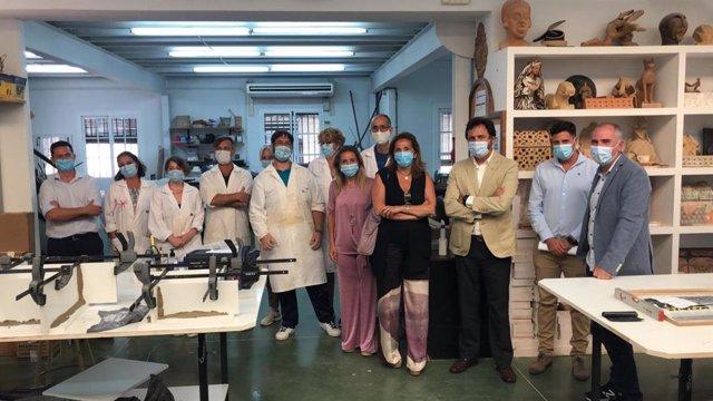 La Escuela de artesanos de Gelves retoma el día 1 de julio las clases presenciales con total garantía sanitaria