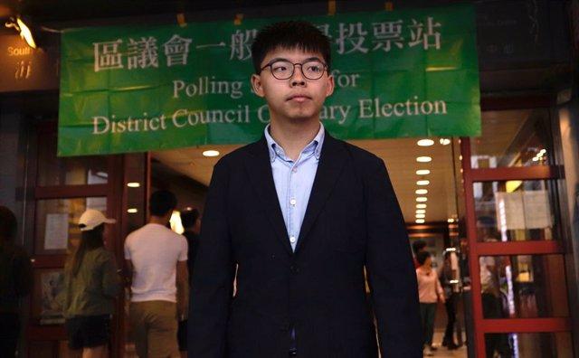 AMP.- China.- Uno de los principales grupos de activistas de Hong Kong anuncia s