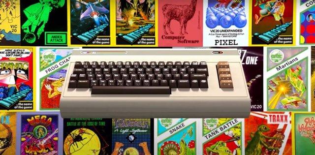 Retro Games recupera el ordenador VIC-20 de 1981 con 64 juegos preinstalados