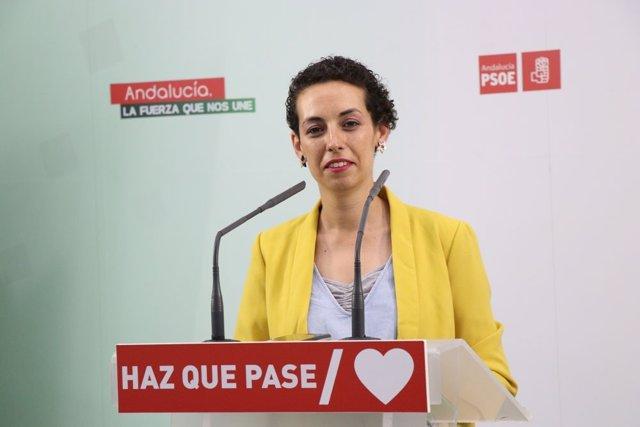 La parlamentaria andaluza por el PSOE  de Jaén Mercedes Gámez.