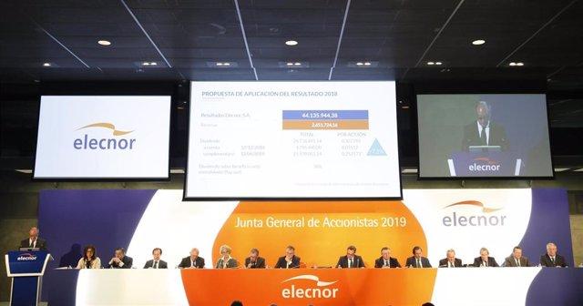 Junta general De accionistas de Elecnor de 2019