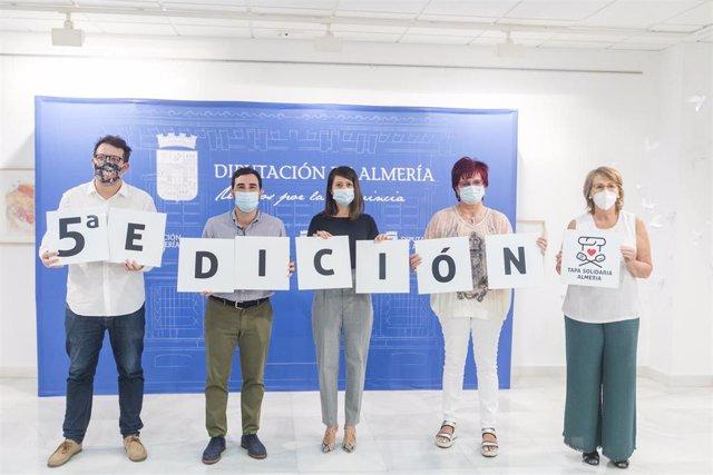 Presentación de la Ruta de la Tapa Solidaria en beneficio de la Asociación A Toda Vela.