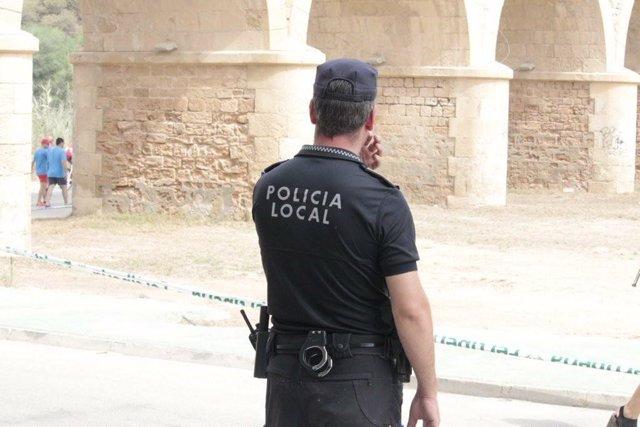 Imagen de archivo de la Policía Local de Orihuela.