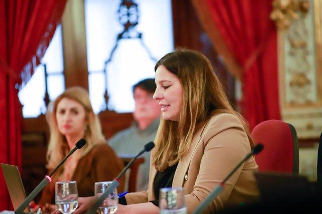 Estefanía Brazo, diputada provincial de Cs