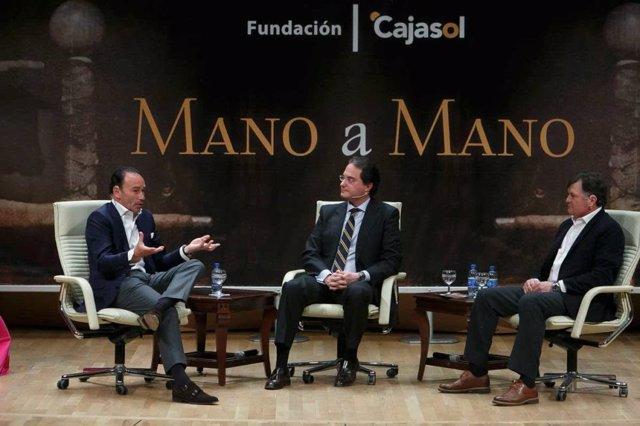 Fundación Cajasol recupera de manera virtual el 'Mano a mano' de Pepín Liria y José Antonio Camacho