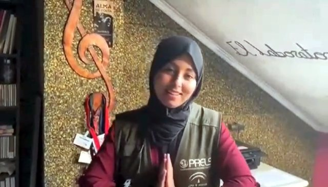 Fotograma del vídeo difundido por el equipo de consultores de integración del Prelsi.