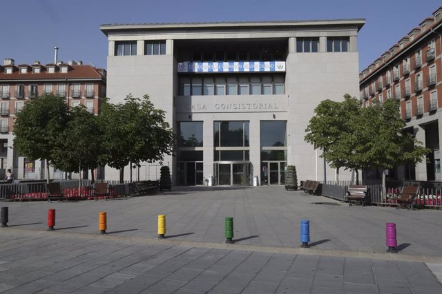 Imagen de recurso de la fachada del Ayuntamiento de Leganés