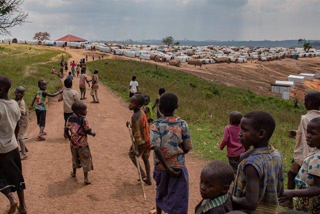Campamento de desplazados de Loda, en República Democrática del Congo