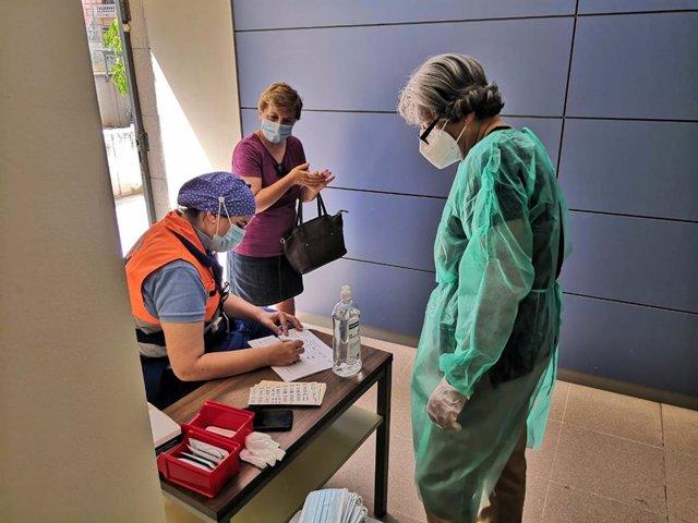 Test rápidos del coronavirus para personal educativo