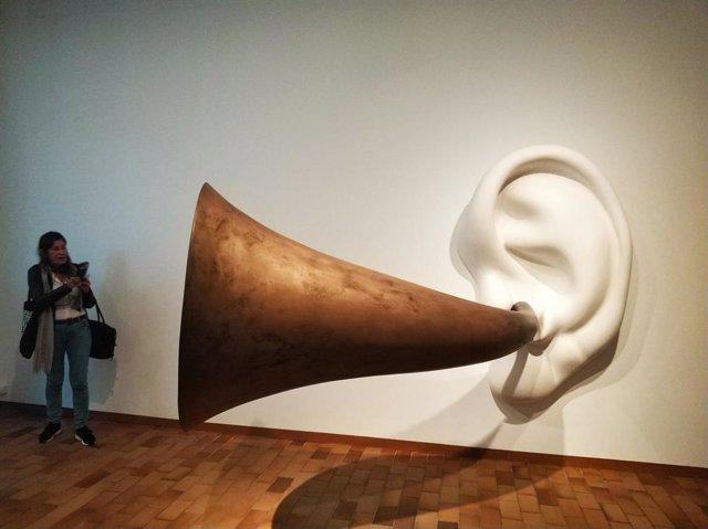 Una exposición de la Fundació Joan Miró (archivo)