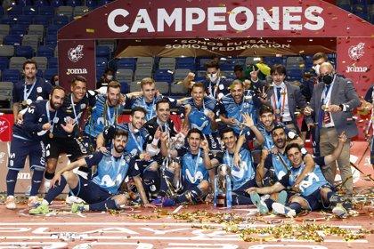 Movistar Inter recupera el trono del fútbol sala nacional