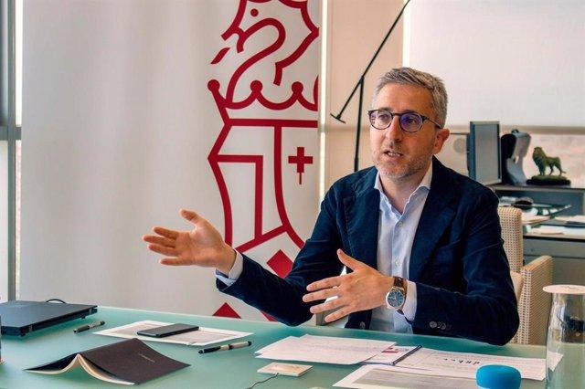 El conseller de Movilidad, Arcadi España.