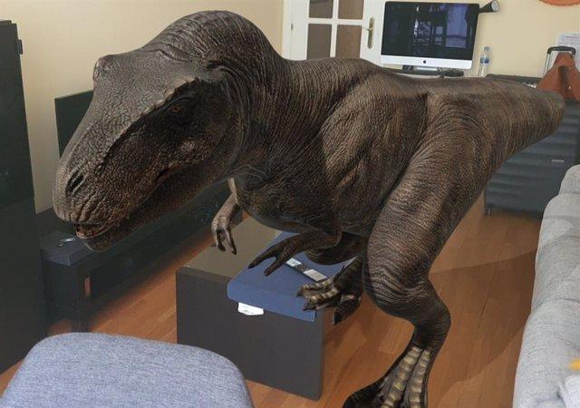 Google ya permite ver 10 especies de dinosaurios mediante realidad aumentada