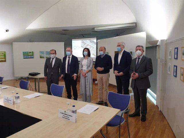 Reunión de la mesa institucional del 'Acordo da Sionlla'
