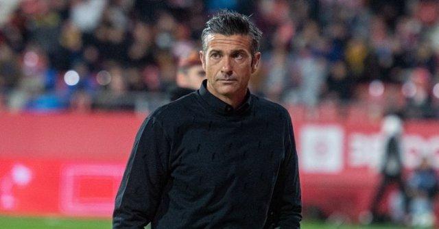 El entrenador español Pep Lluís Martí en su etapa en el Girona FC