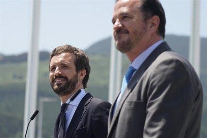 Casado vuelve este miércoles a Euskadi para visitar una empresa alavesa junto a Carlos Iturgaiz