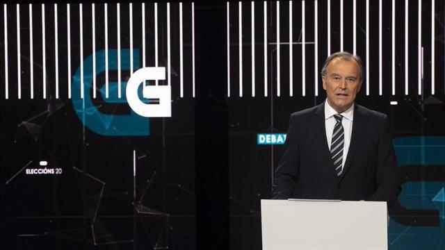 El presentador de la TVG Francisco López Iglesias
