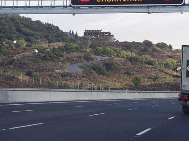 Carretera autovía malaga