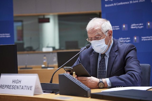 El Alto Representante de Política Exterior de la Unión Europea, Josep Borrell