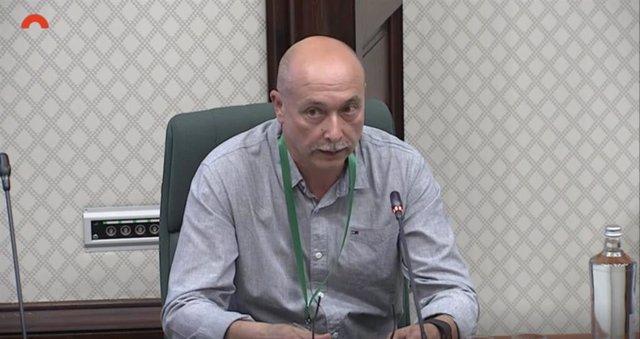 El expresidente del comité de empresa Iqoxe y trabajador de la petroquímica, Fernando Terrado.