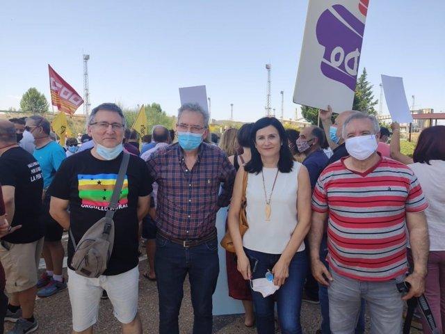 CHA ha participado en la movilización en Andorra.