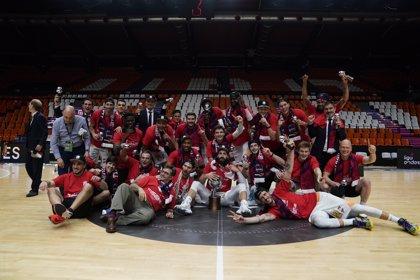 El Baskonia, campeón excepcional de Liga Endesa