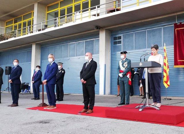 AMP.- Más de 100 nuevos policías nacionales juran el cargo en Barcelona