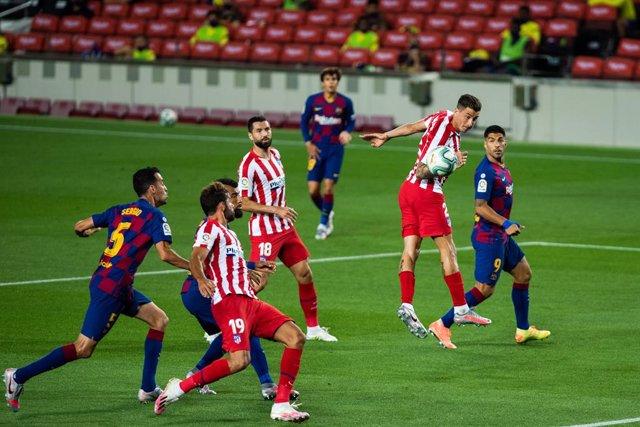 Fútbol/Primera.- Crónica del FC Barcelona - Atlético de Madrid, 2-2